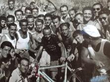 gruppo con bici