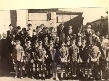 gruppo prima comunione anno 1956
