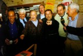 ... con Lucio Dalla, Franco Bracardi, Max Catalano e Fabrizio Zampa