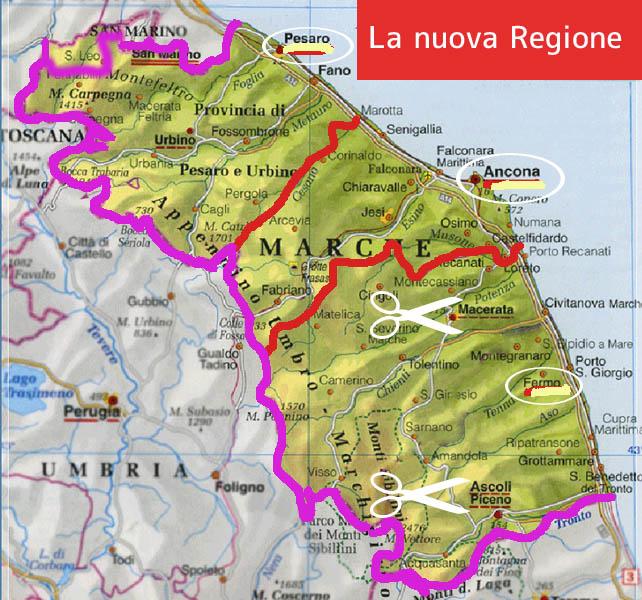 Cartina Stradale Marche Dettagliata.Distretto Marche Sud Gestito Da Fermo L Opinione Di Giancarlo Liuti Montecosaro