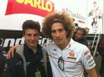 Lorenzo Baldassarri e Marco Simoncelli
