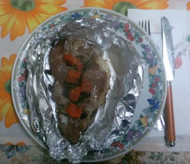 CUCINARE LOW COST: Capocollo di maiale al cartoccio – Montecosaro