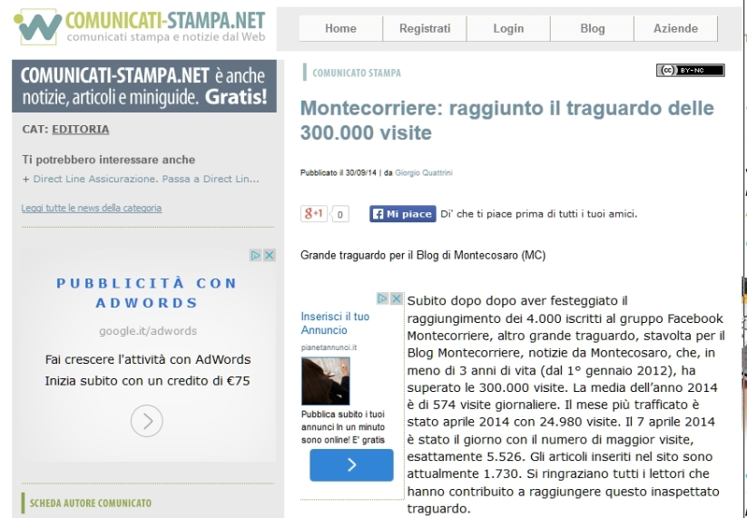 comunicati-stampa.net 1-10-14
