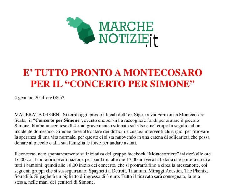 Marche Notizie 4/1/14