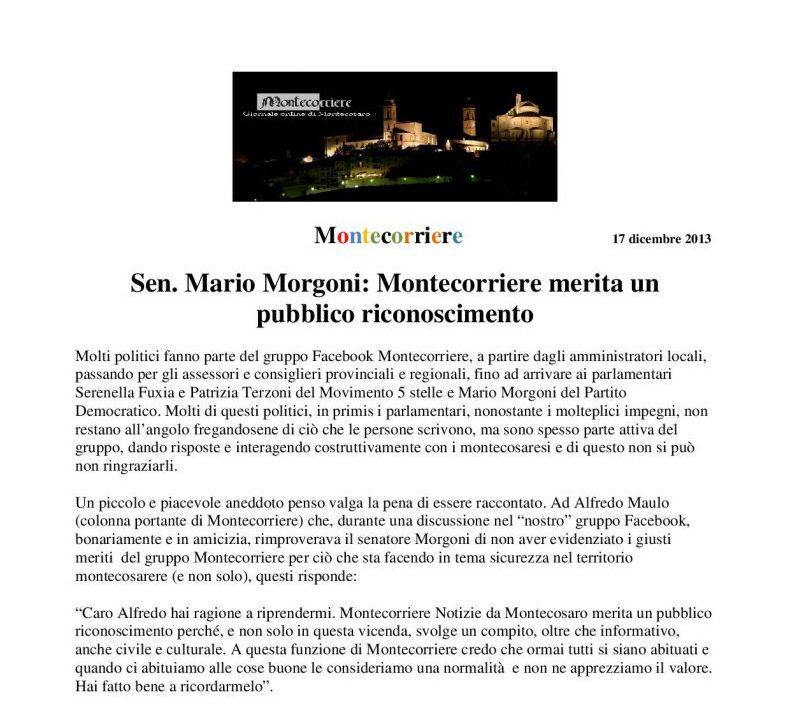 Montecorriere 17/12/13