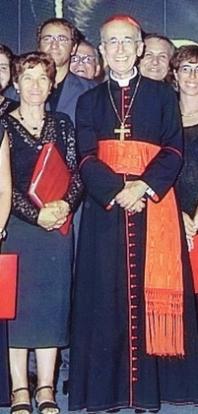 ...con Cardinale Camillo Ruini