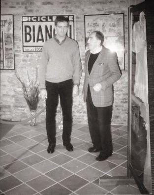 ... con Faustino Coppi