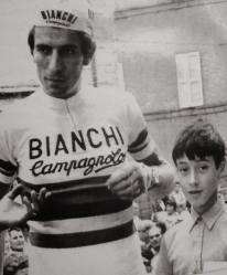 ... con Felice Gimondi