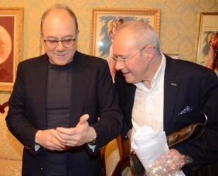 ... con Carlo Verdone