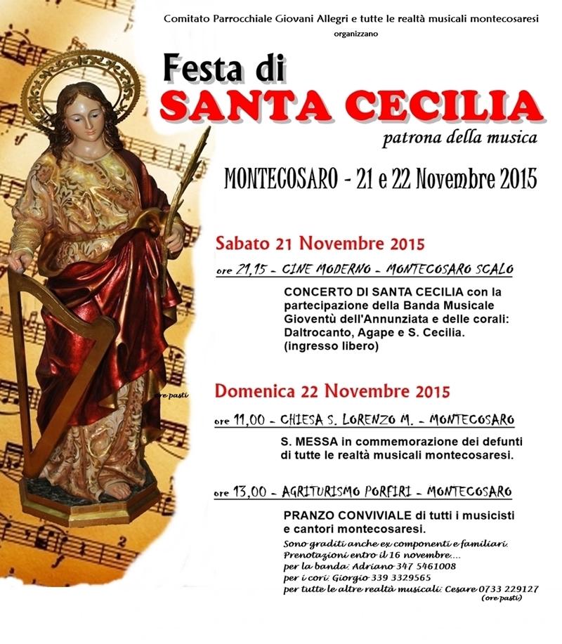 Locandina Santa Cecilia-verticale